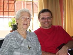 Sister Loretta and Terry Garchinski, Terry's Return Visit to Moquegua, Peru, in April 2009